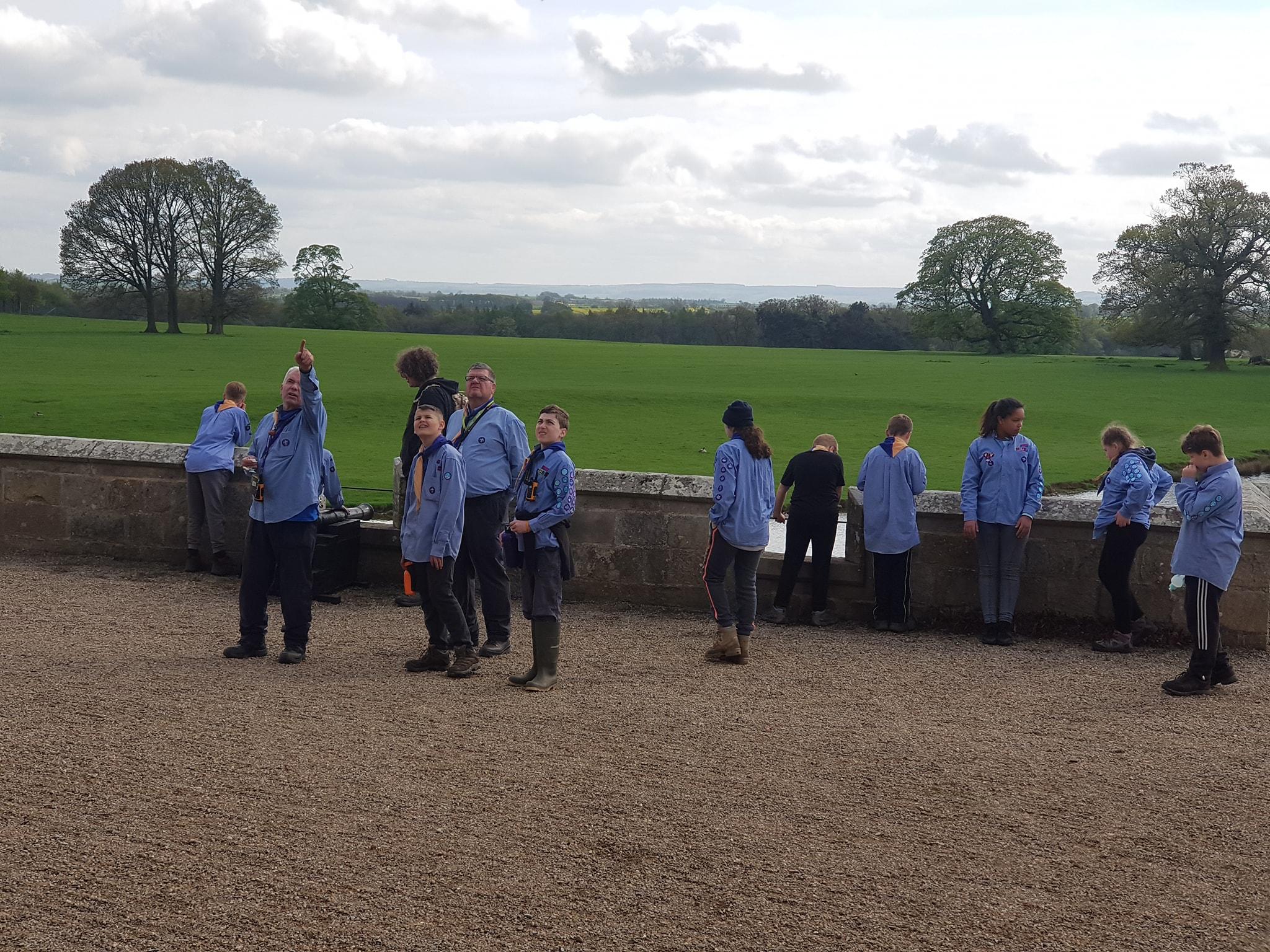 Scout Service And Castle Visit 7th Darlington Scout Group